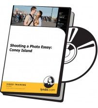 دانلود آموزش Lynda Shooting a Photo Essay: Coney Island