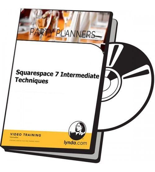 آموزش Lynda Squarespace 7 Intermediate Techniques