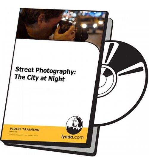 آموزش Lynda Street Photography: The City at Night