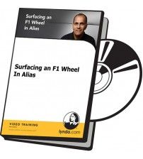 دانلود آموزش Lynda Surfacing an F1 Wheel In Alias