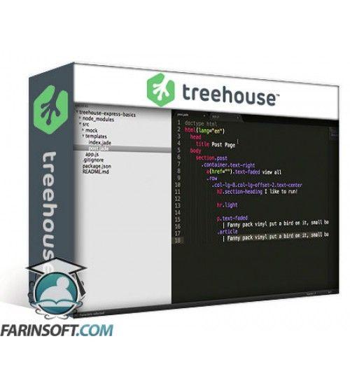 آموزش TeamTreeHouse Express Basics