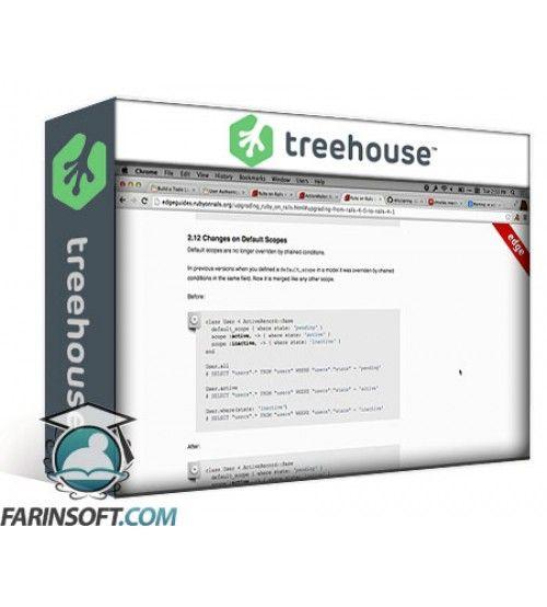 آموزش TeamTreeHouse Upgrading a Ruby on Rails Application