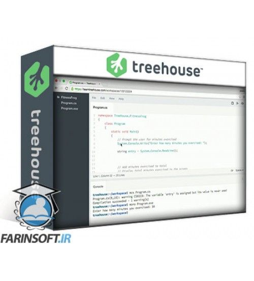 آموزش TeamTreeHouse C# Basics