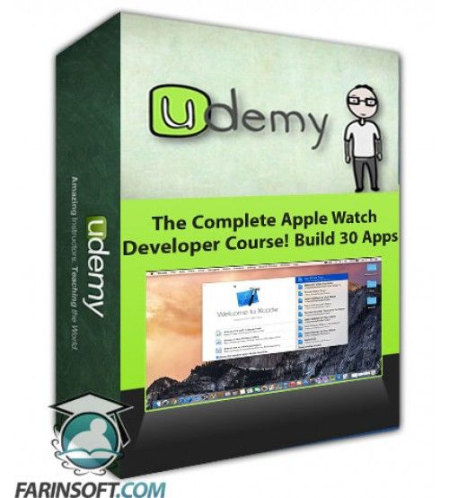 آموزش Udemy The Complete Apple Watch Developer Course! Build 30 Apps