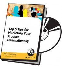 دانلود آموزش Lynda Top 5 Tips for Marketing Your Product Internationally