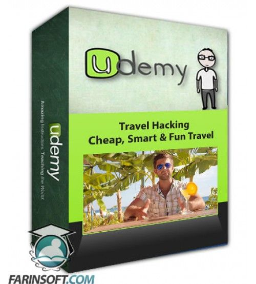 آموزش Udemy Travel Hacking – Cheap, Smart & Fun Travel