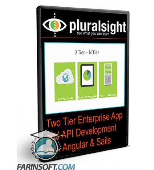 آموزش PluralSight Two Tier Enterprise App and API Development with Angular & Sails