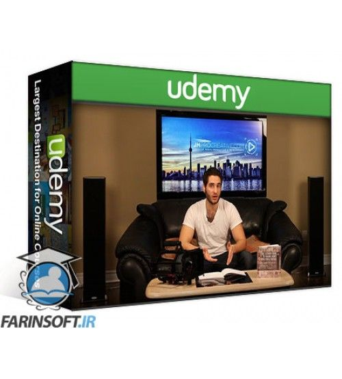 آموزش Udemy The Ultimate Guide to Shooting & Making Money with Video