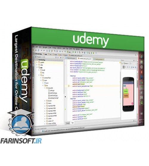 آموزش Udemy The Complete Android & Java Developer: Build 21 Android-Apps