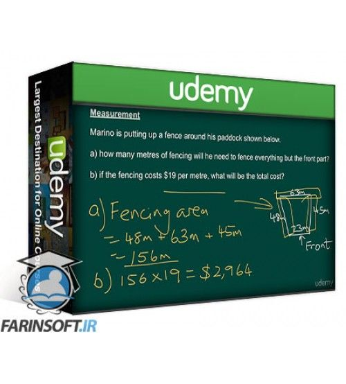 آموزش Udemy Ultimate guide to maths word problems – Beginners