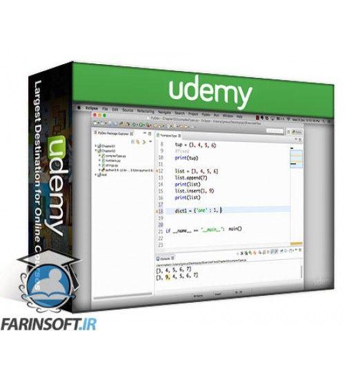 آموزش Udemy Python 3 be a paid scripting professional