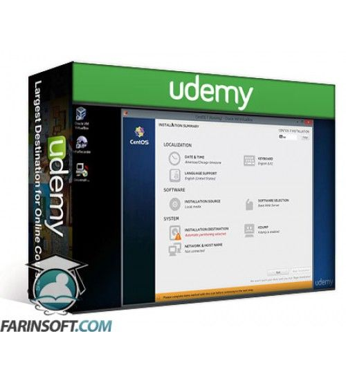 آموزش Udemy CentOS 7 Linux Server Alternative to Red Hat Enterprise