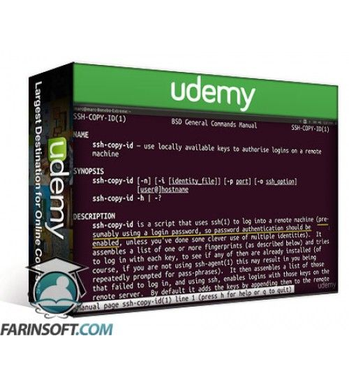 آموزش Udemy Command Line Survival Transfer and Manage Files With Ease