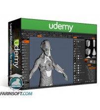 آموزش Udemy Hard Surface Modeling and Sculpting Course in 3D Coat