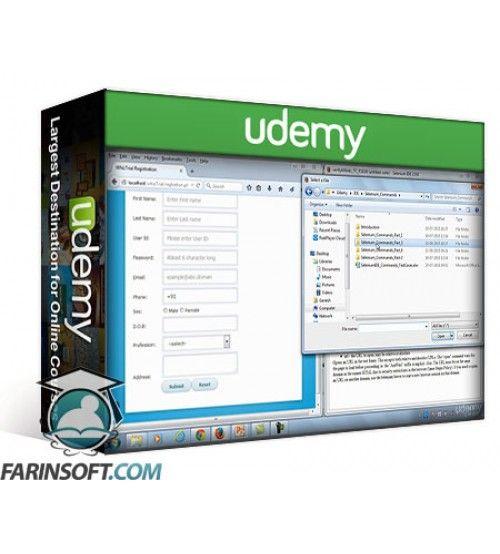 آموزش Udemy Learn Selenium IDE and Webdriver
