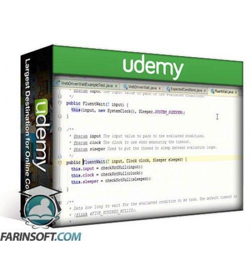 آموزش Udemy Selenium 2 WebDriver Basics With Java