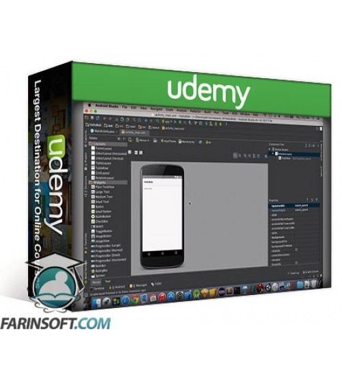 آموزش Udemy Learn Android M Development, Build Phone and Wearable Apps