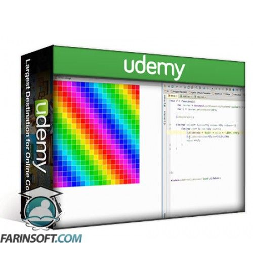 آموزش Udemy HTML5 Canvas: Most Comprehensive HTML5 Course