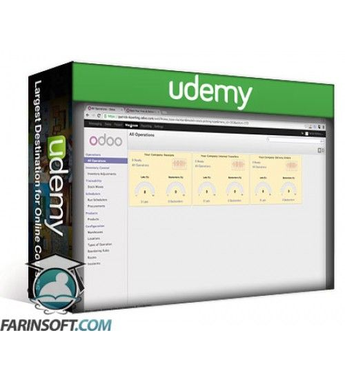 آموزش Udemy Odoo Open ERP Basics