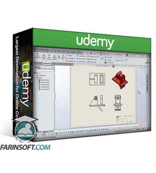 آموزش Udemy Solidworks 2015 Drawing Essential Training