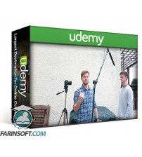 دانلود آموزش Udemy Audio for Video – Recording Sound and Voice on Location