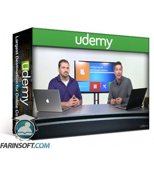 آموزش Udemy Configuring Server 2012 (70-412)