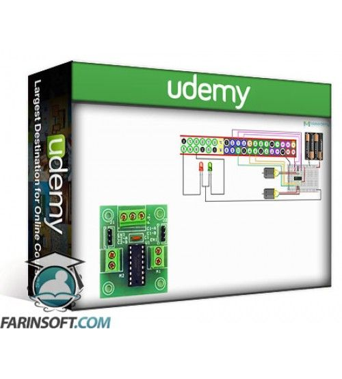 آموزش Udemy Raspberry Pi Robotics