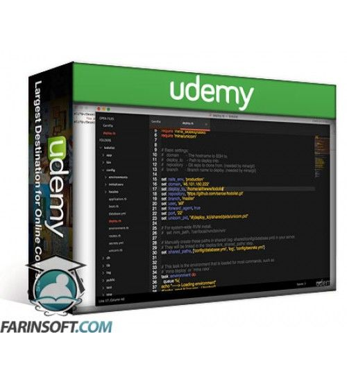 آموزش Udemy Deploying Ruby on Rails Application in Your Own Server
