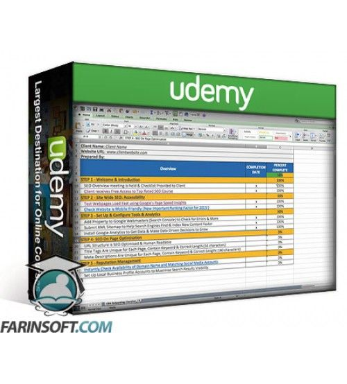 آموزش Udemy SEO Checklist to Increase Your Web Design Fee