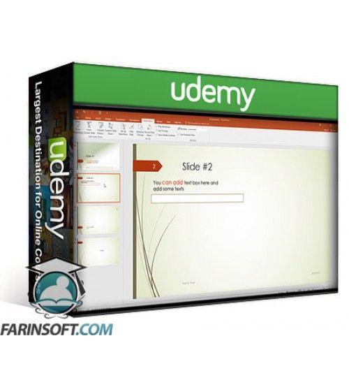 آموزش Udemy Microsoft PowerPoint 365 2016 A to Z