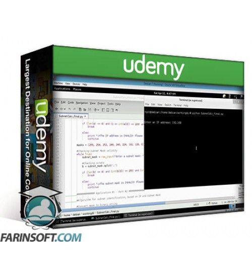 آموزش Udemy Python and Network Automation: Build 7 Python Apps