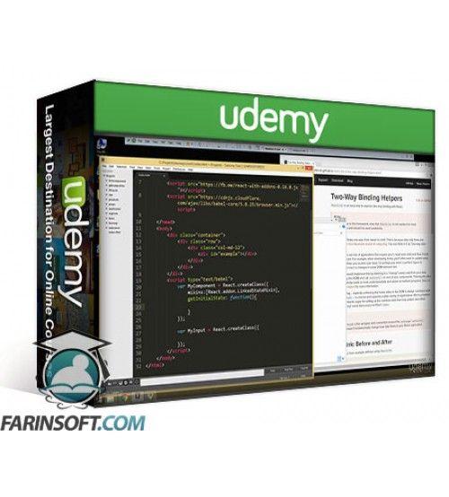 آموزش Udemy Build Apps with ReactJS: The Complete Course