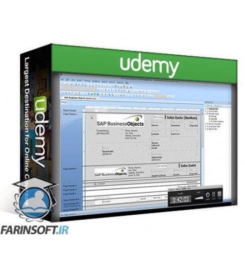 آموزش Udemy Crystal Reports for SAP Business One Mastery Training Course