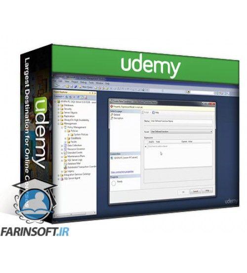 آموزش Udemy Designing a SQL Server Database & Storage Solution (70-465)