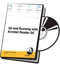 آموزش Lynda Up and Running with Acrobat Reader DC