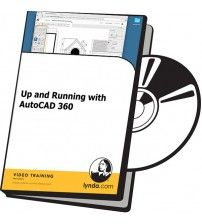 دانلود آموزش Lynda Up and Running with AutoCAD 360