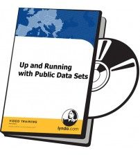 دانلود آموزش Lynda Up and Running with Public Data Sets