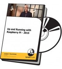 آموزش Lynda Up and Running with Raspberry Pi - 2015