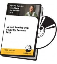 دانلود آموزش Lynda Up and Running with Skype for Business 2015