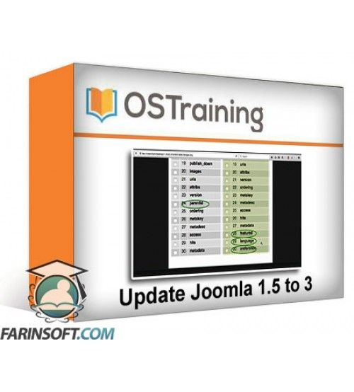 آموزش OS Training Update Joomla 1.5 to 3