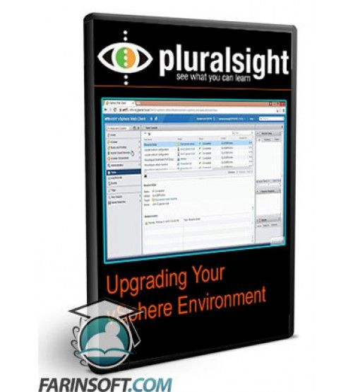 آموزش PluralSight Upgrading Your vSphere Environment