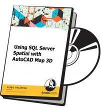 دانلود آموزش Lynda Using SQL Server Spatial with AutoCAD Map 3D