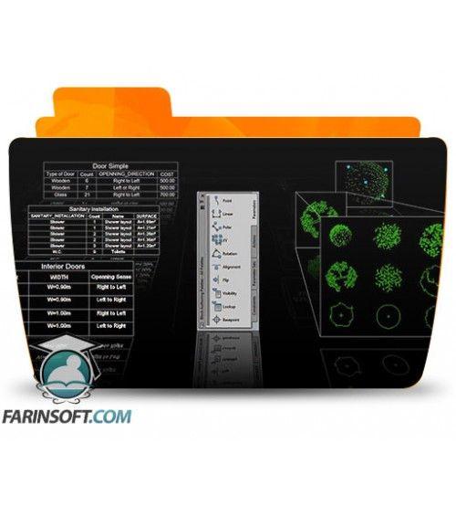 آموزش Digital Tutors Utilizing Dynamic Blocks and Data Extraction for BIM in AutoCAD