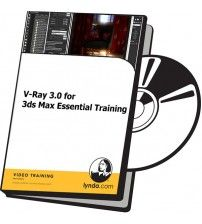 دانلود آموزش Lynda V-Ray 3.0 for 3ds Max Essential Training