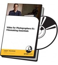 دانلود آموزش Lynda Video for Photographers 01: Filmmaking Essentials
