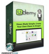 آموزش Udemy Views Made Simple: Create Your Own Views in Drupal