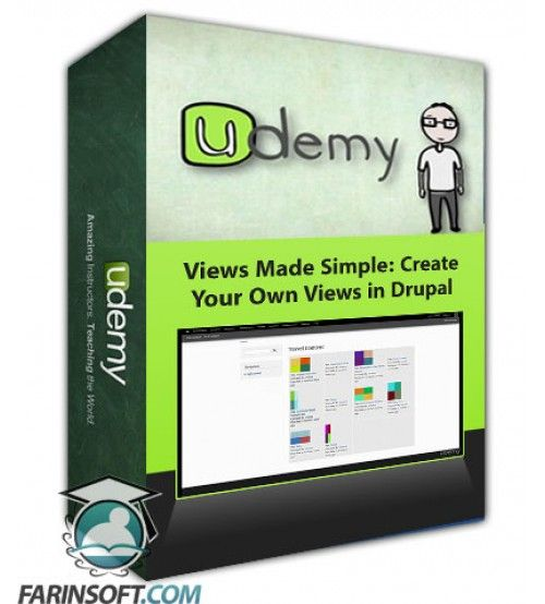 آموزش Udemy Views Made Simple: Create Your Own Views in Drupal