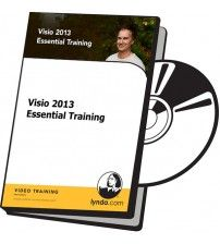 دانلود آموزش Lynda Visio 2013 Essential Training