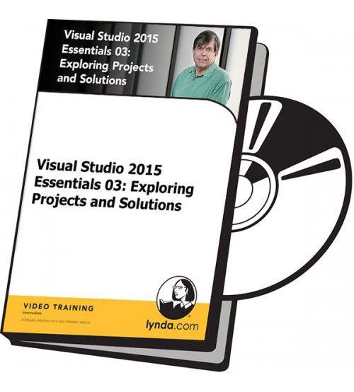 آموزش Lynda Visual Studio 2015 Essentials 03: Exploring Projects and Solutions