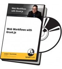 آموزش Lynda Web Workflows with Grunt.js